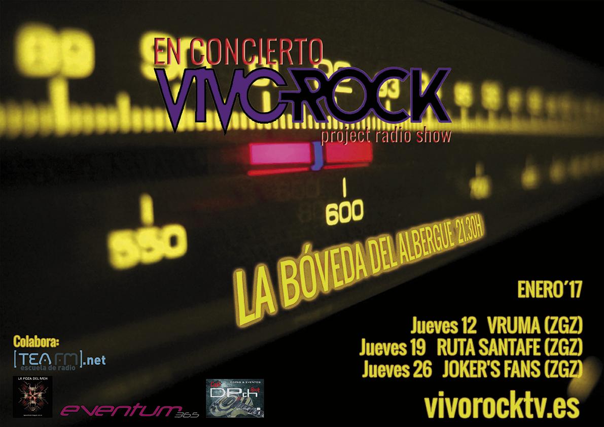 VivoRock En Concierto: Programación de Enero
