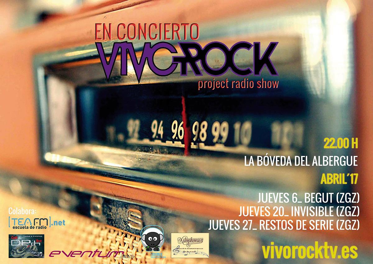 VivoRock En Concierto: Programación de Abril '17