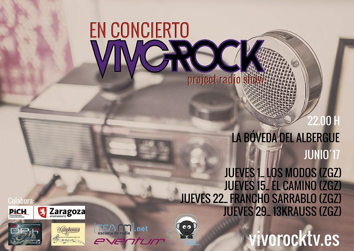 Vivo Rock En Concierto: Programación de Junio '17