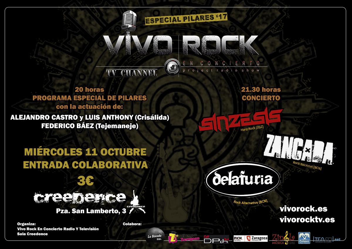 Vivo Rock En Concierto Especial Pilares '17