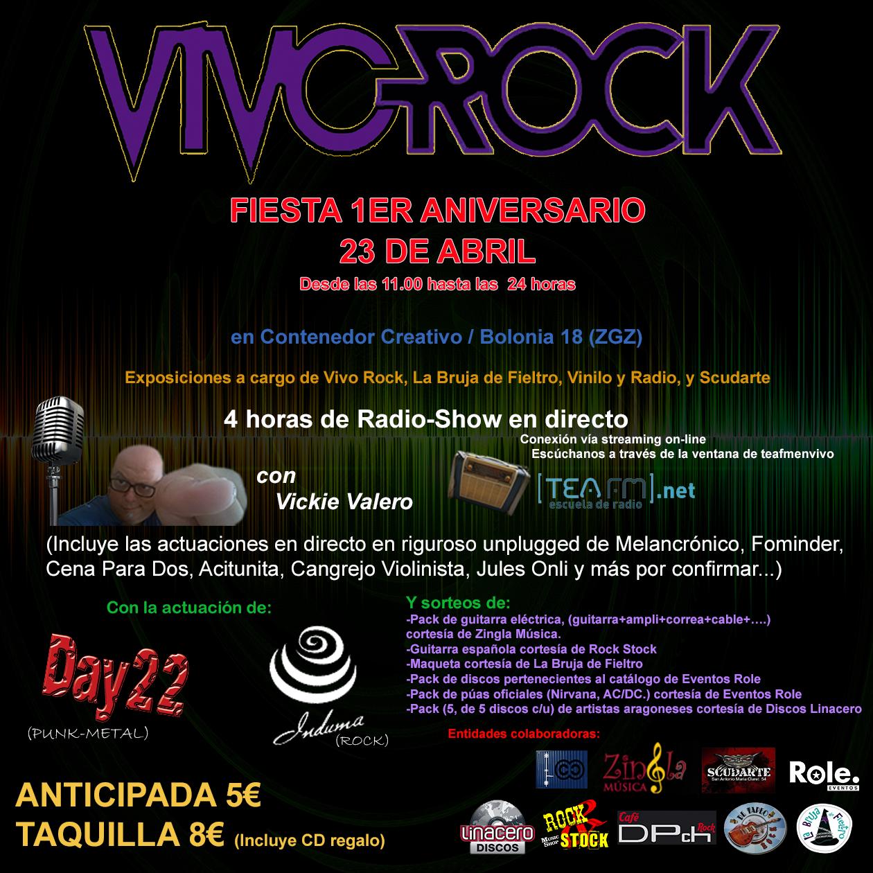 1er Aniversario Vivo Rock