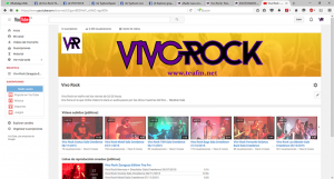 CANAL YOUTUBE VIVO ROCK