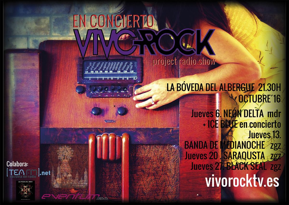 VivoRock En Concierto: Programación de Octubre.