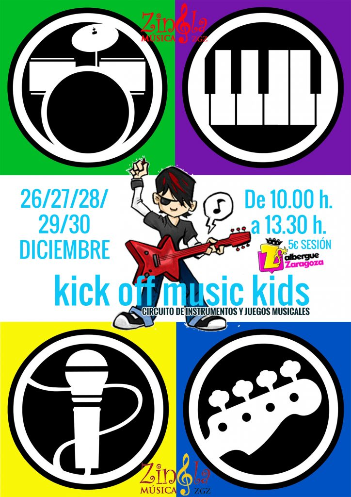 KICK OFF MUSIC KIDS