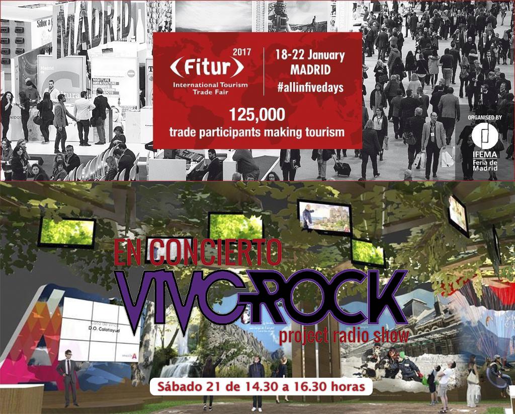 Vivo Rock En concierto en FITUR '17