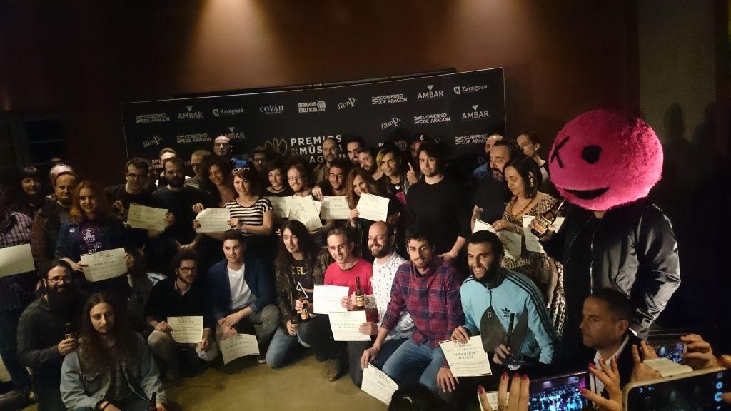 Nominados a los Premios de la Música Aragonesa en su XVIII edición