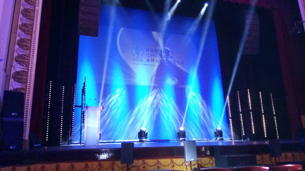 Gala de la XVIII edición de los Premios de la Música Aragonesa