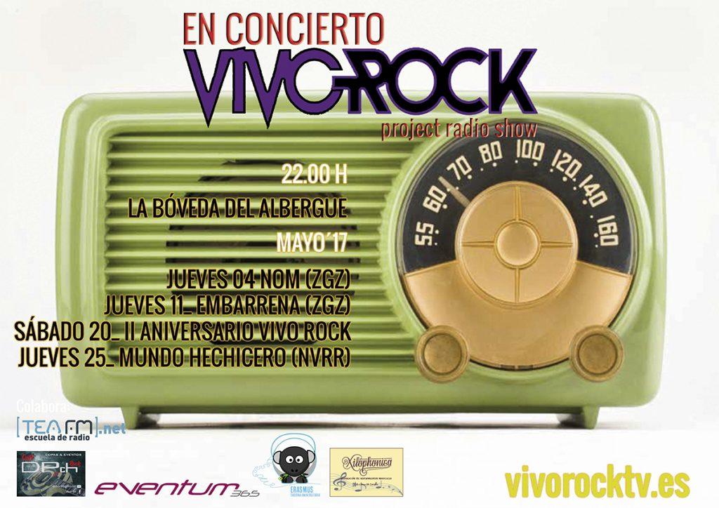 VivoRock En Concierto: Programación de Mayo'17