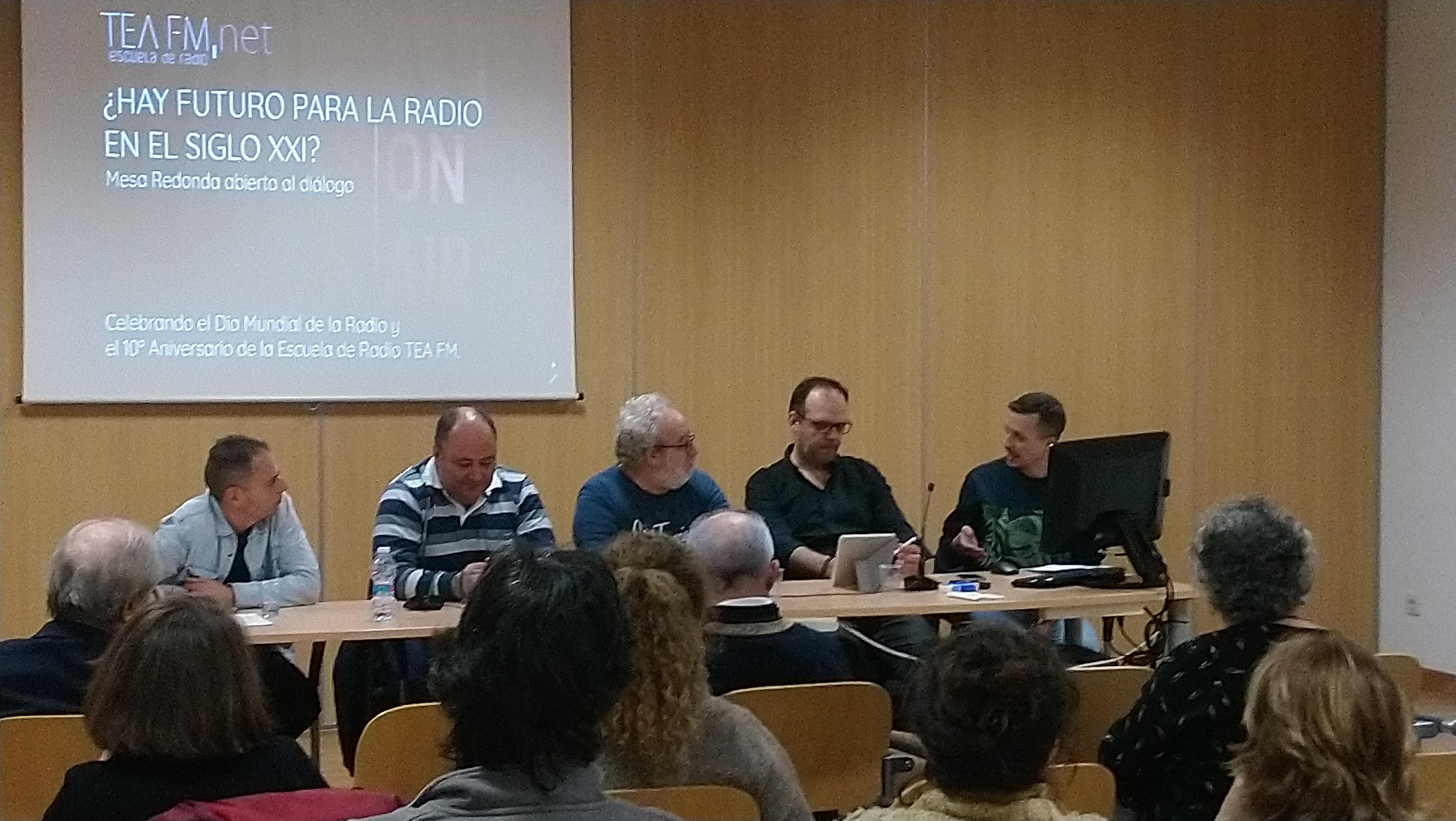 De izda a decha: Sergio Falces, Juan Rocha, Chusé Fernández, David Marqueta y Alberto Baeyens.