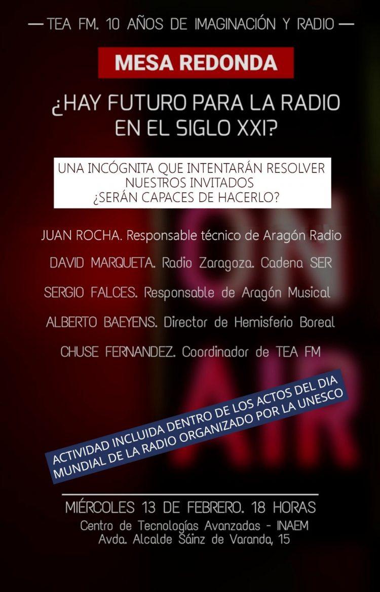 Tea FM: X Aniversario y Día Mundial de la Rado