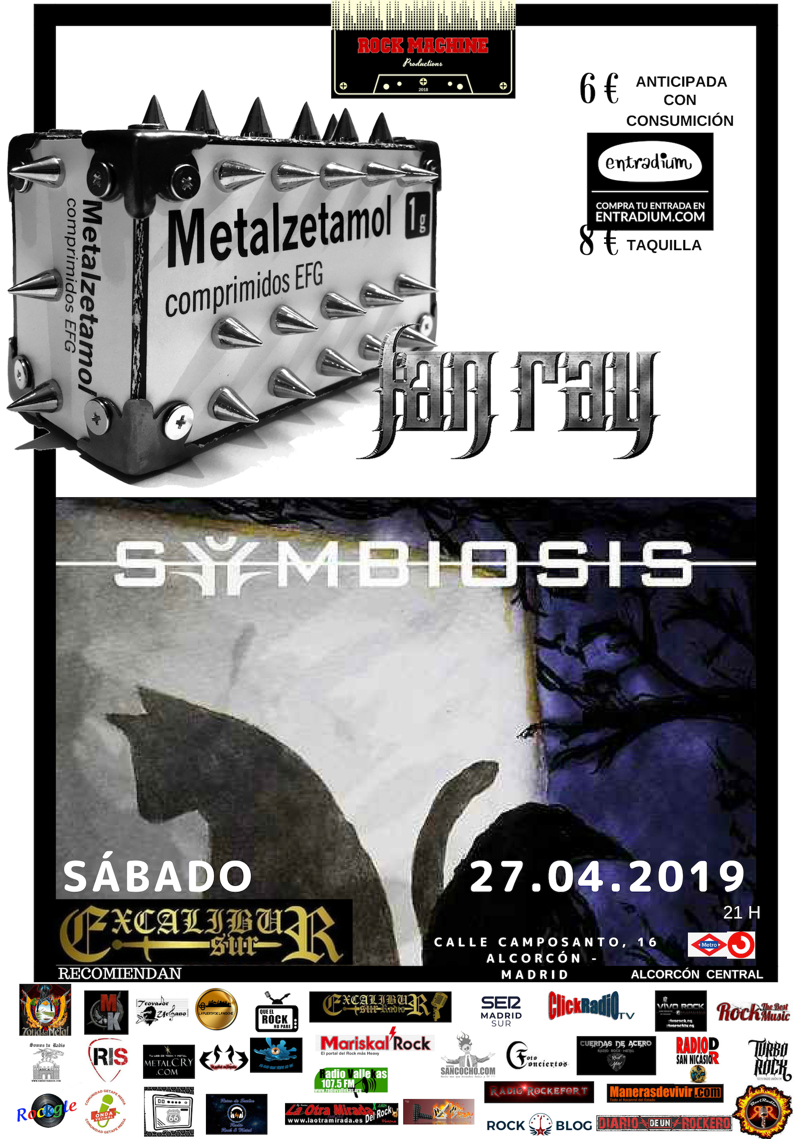 Fan Ray-Symbiosis - 27 de abril