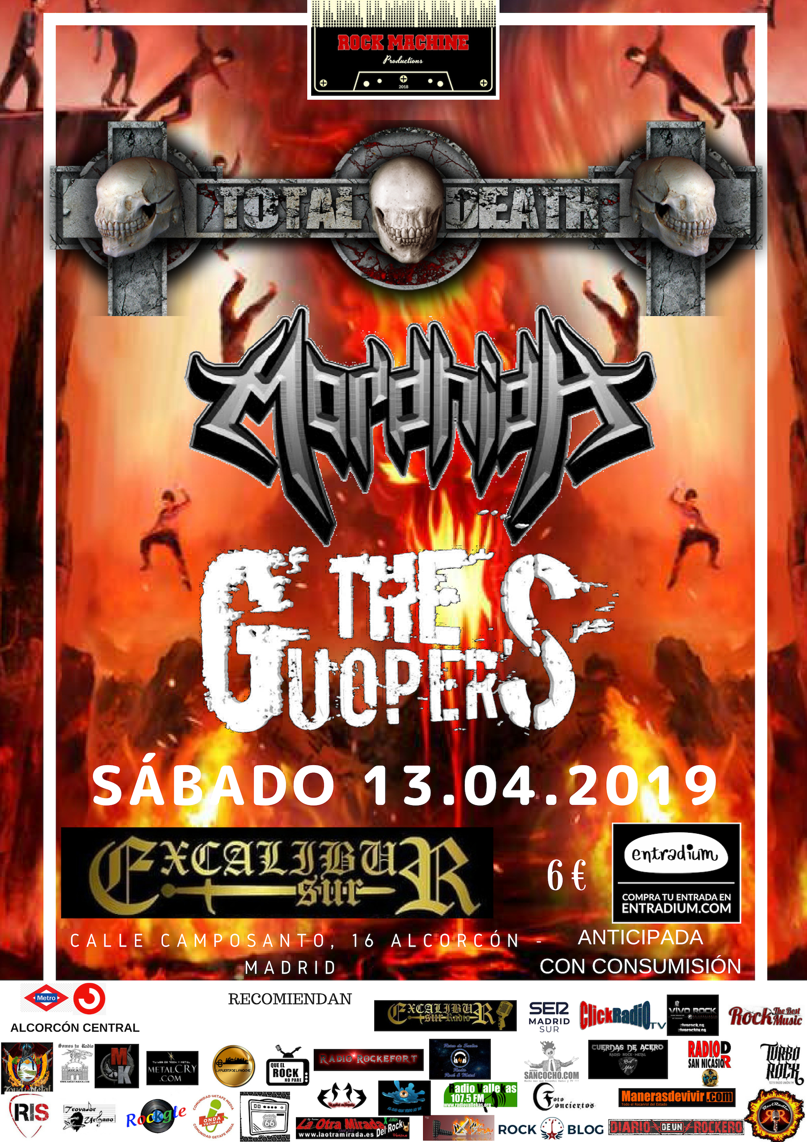 Total Death-Mordhida-The Guoper's - 13 de abril.