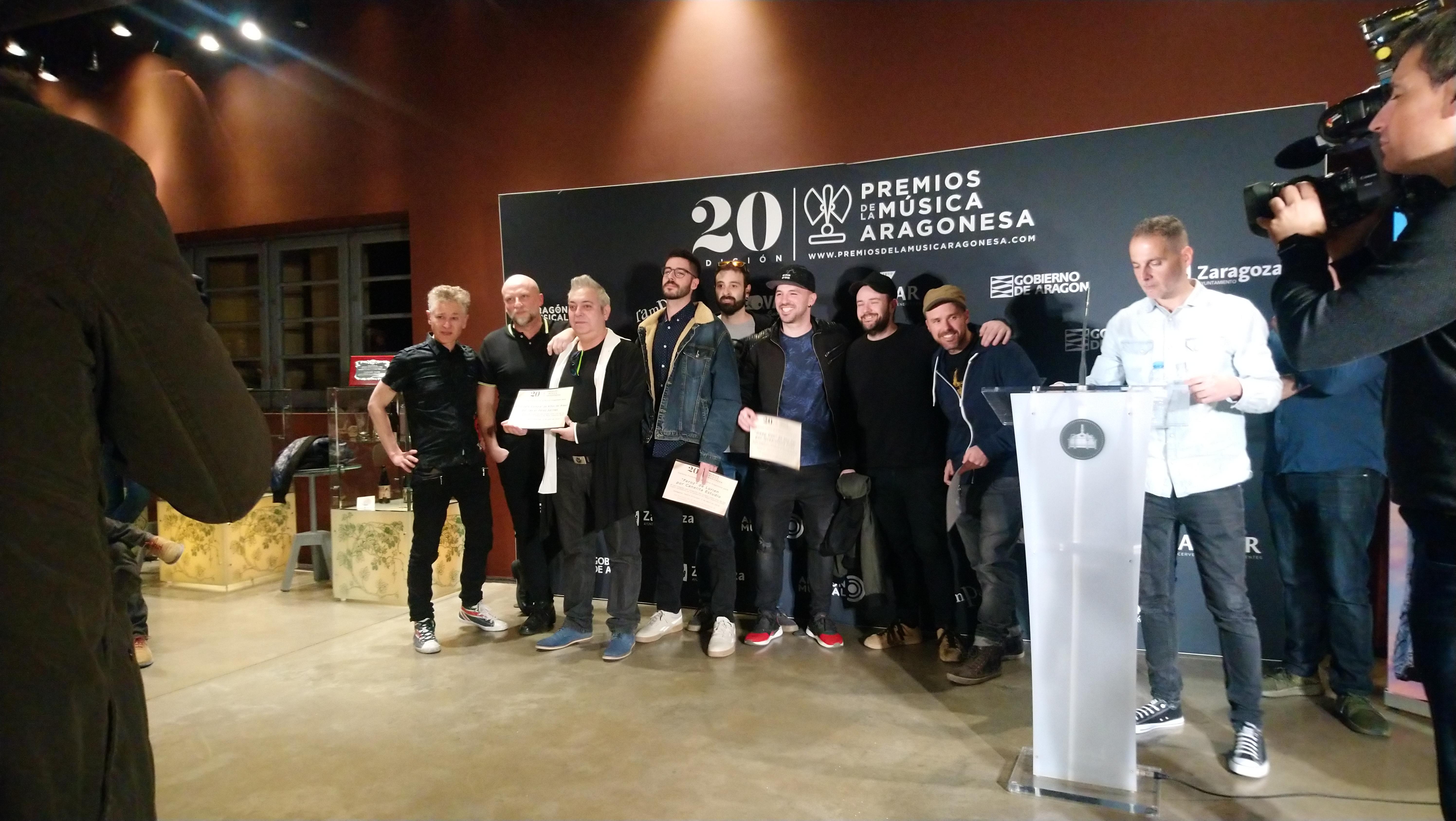 XX Premios de la Música Aragonesa. Nominados a Mejor Videoclip.