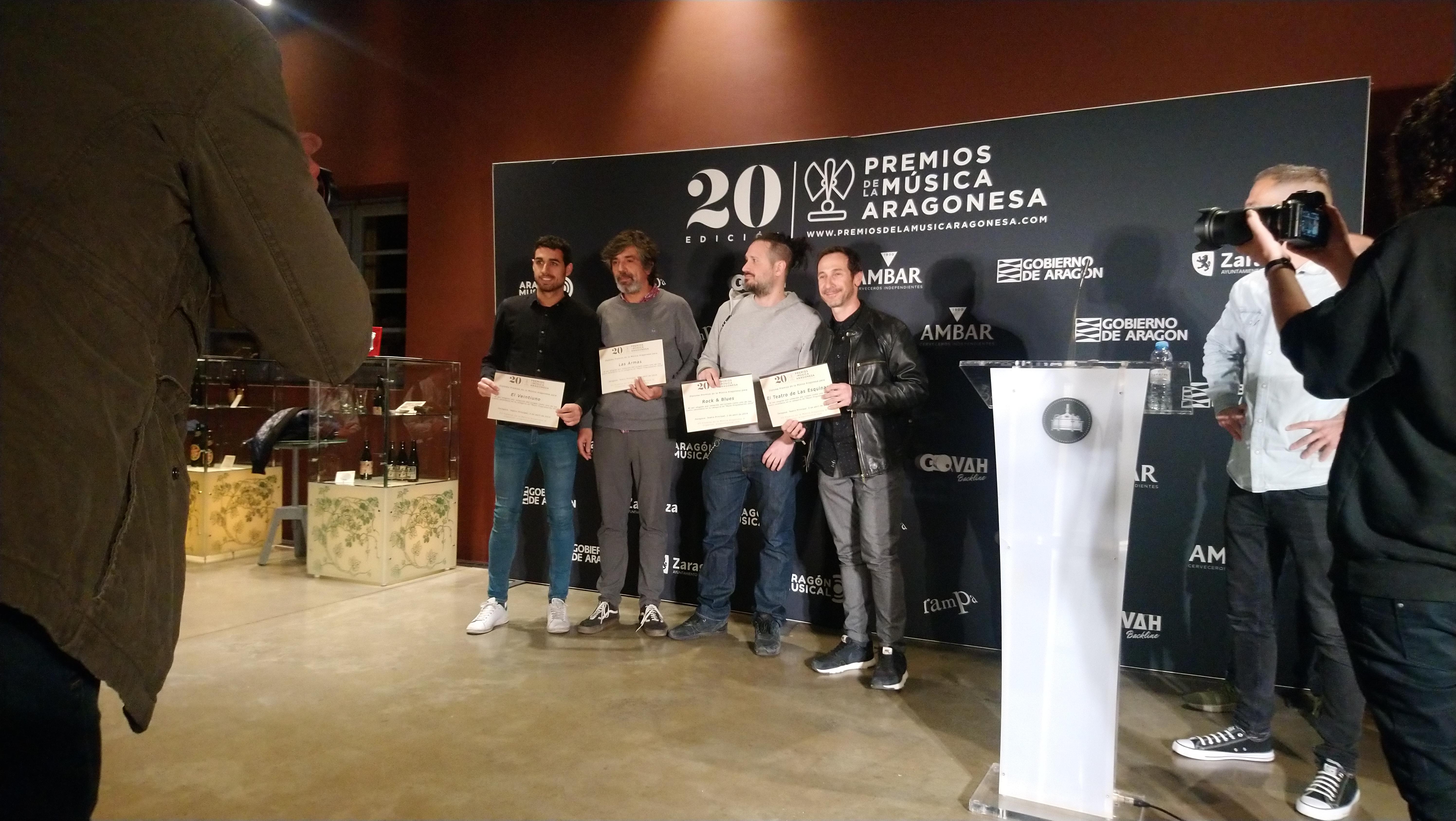 XX Premios de la Música Aragonesa. Nominados a Mejor Programación.