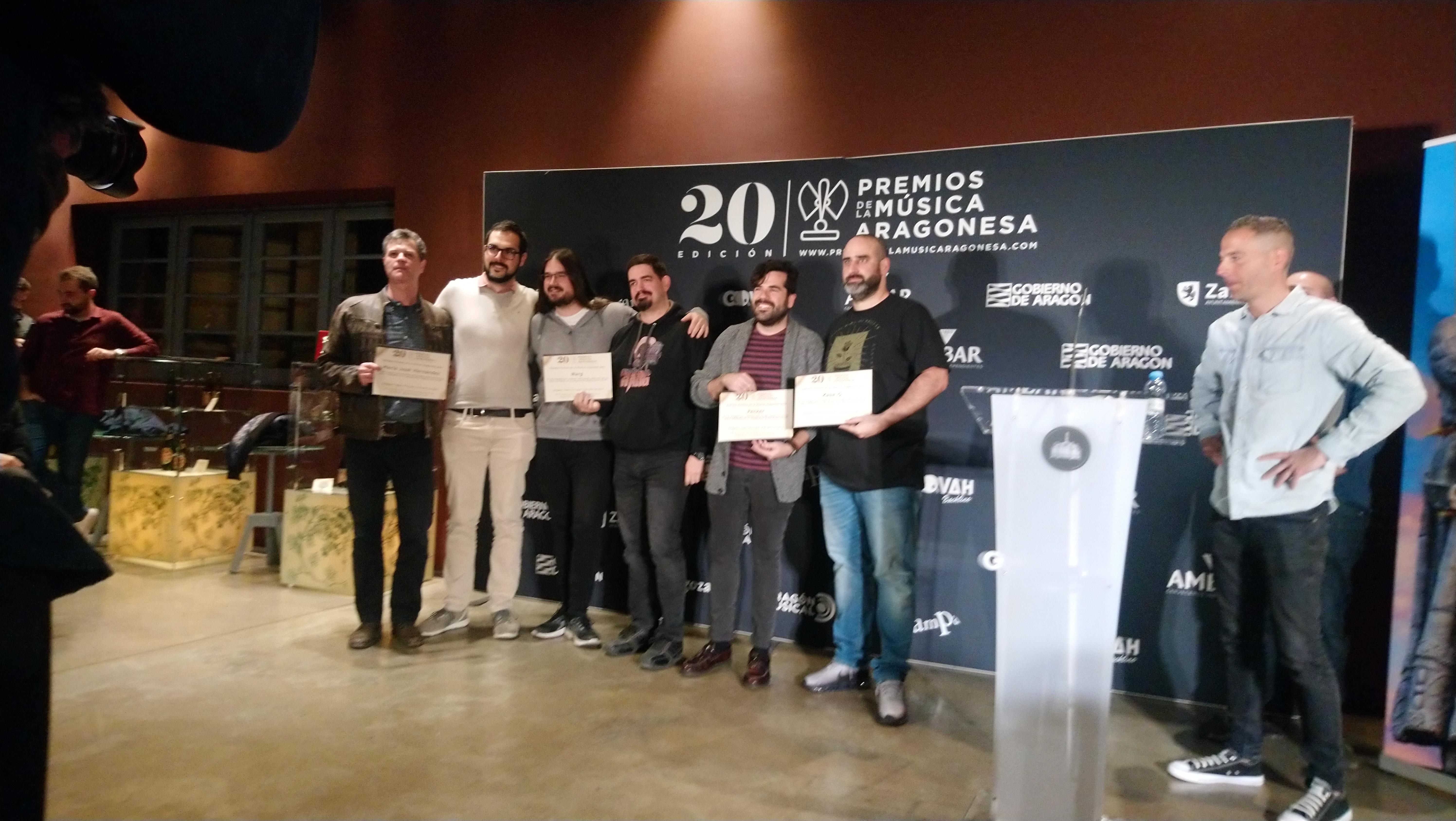 XX Premios de la Música Aragonesa. Nominados a Mejor Directo.