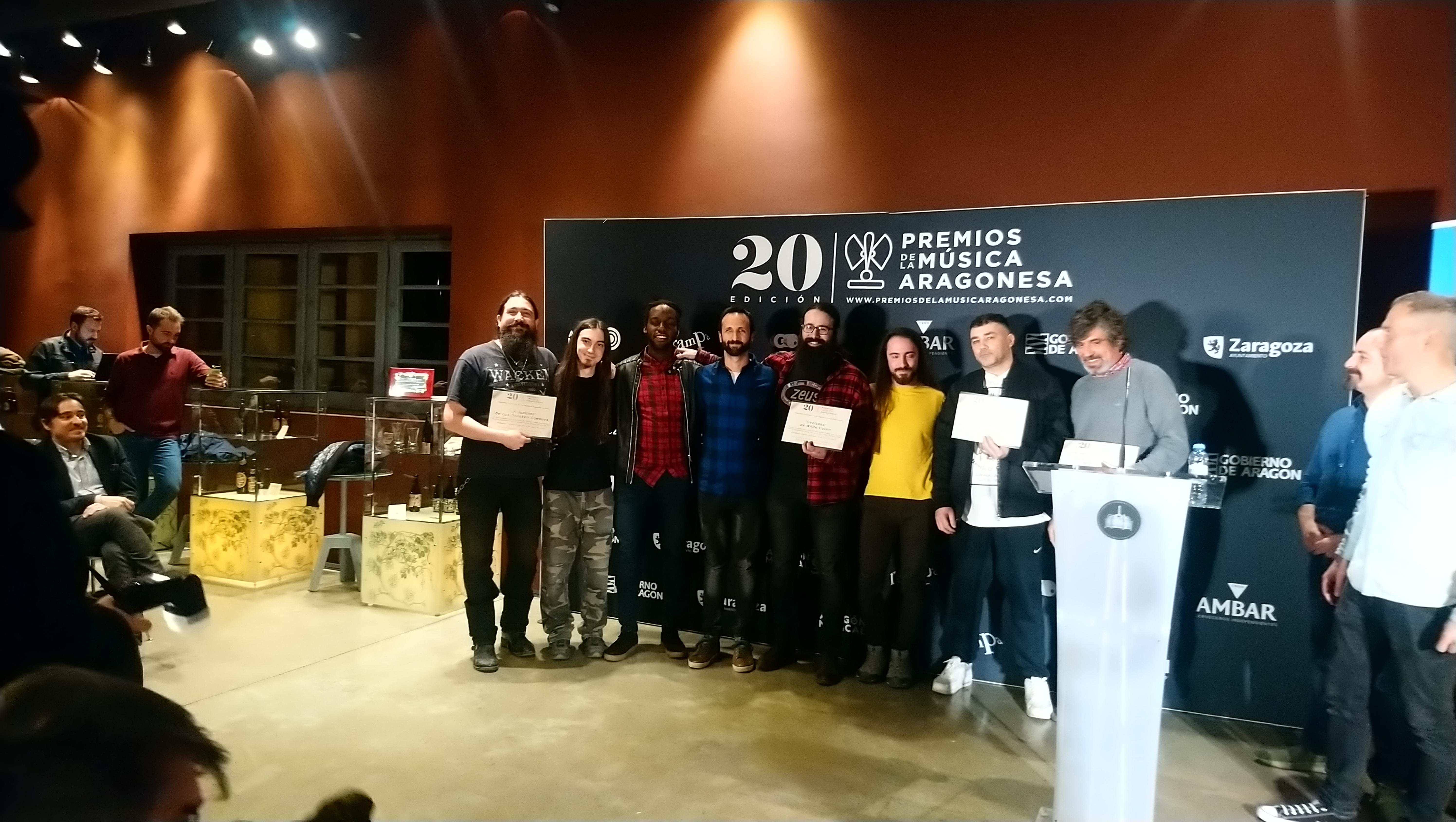 XX Premios de la Música Aragonesa. Nominados a Mejor Álbum.