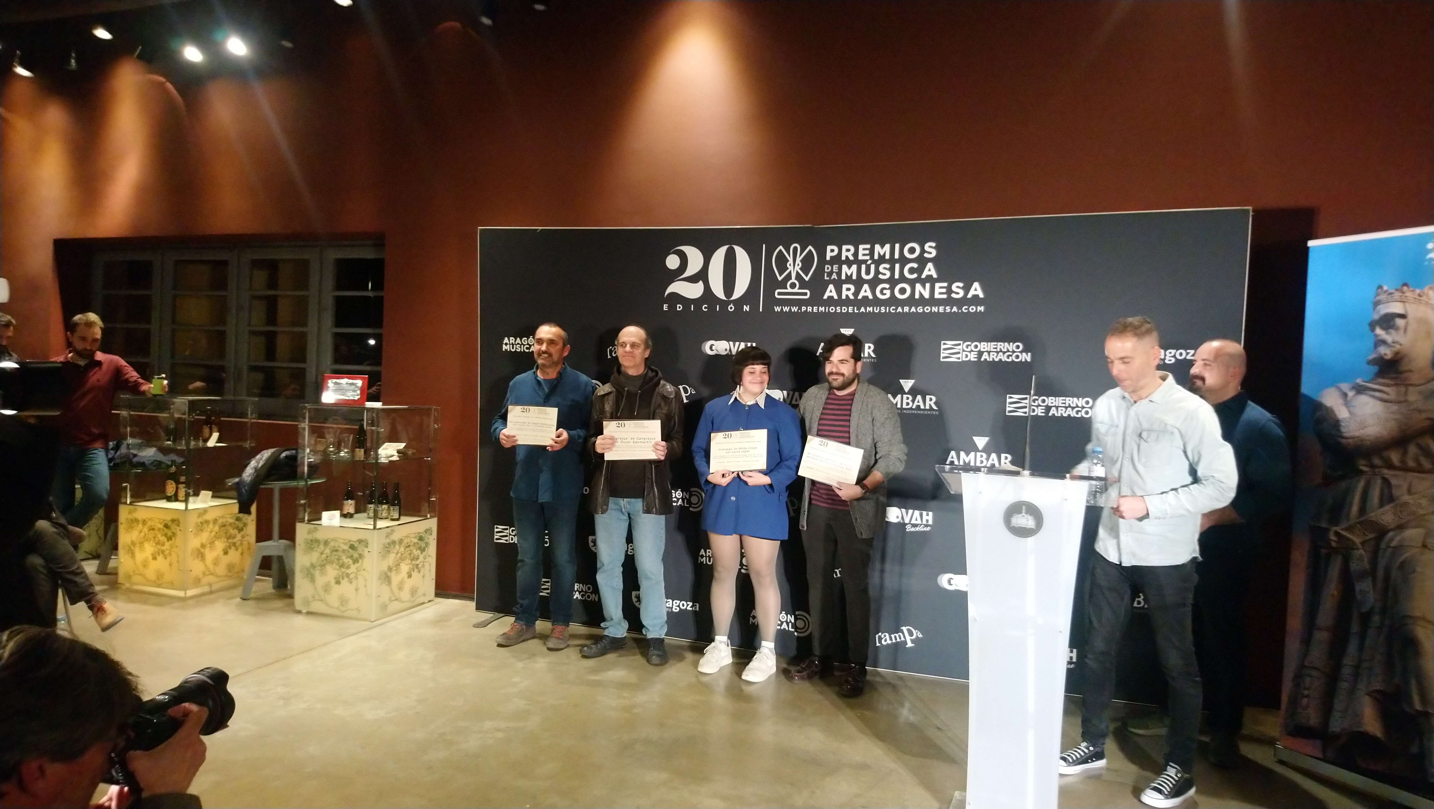 XX Premios de la Música Aragonesa. Nominados a Mejor Portada.