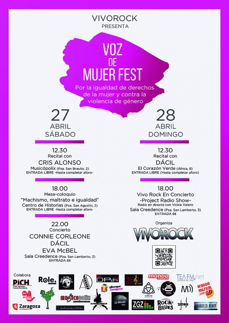 Voz De Mujer Fest: 27 y 28 de abril de 2019