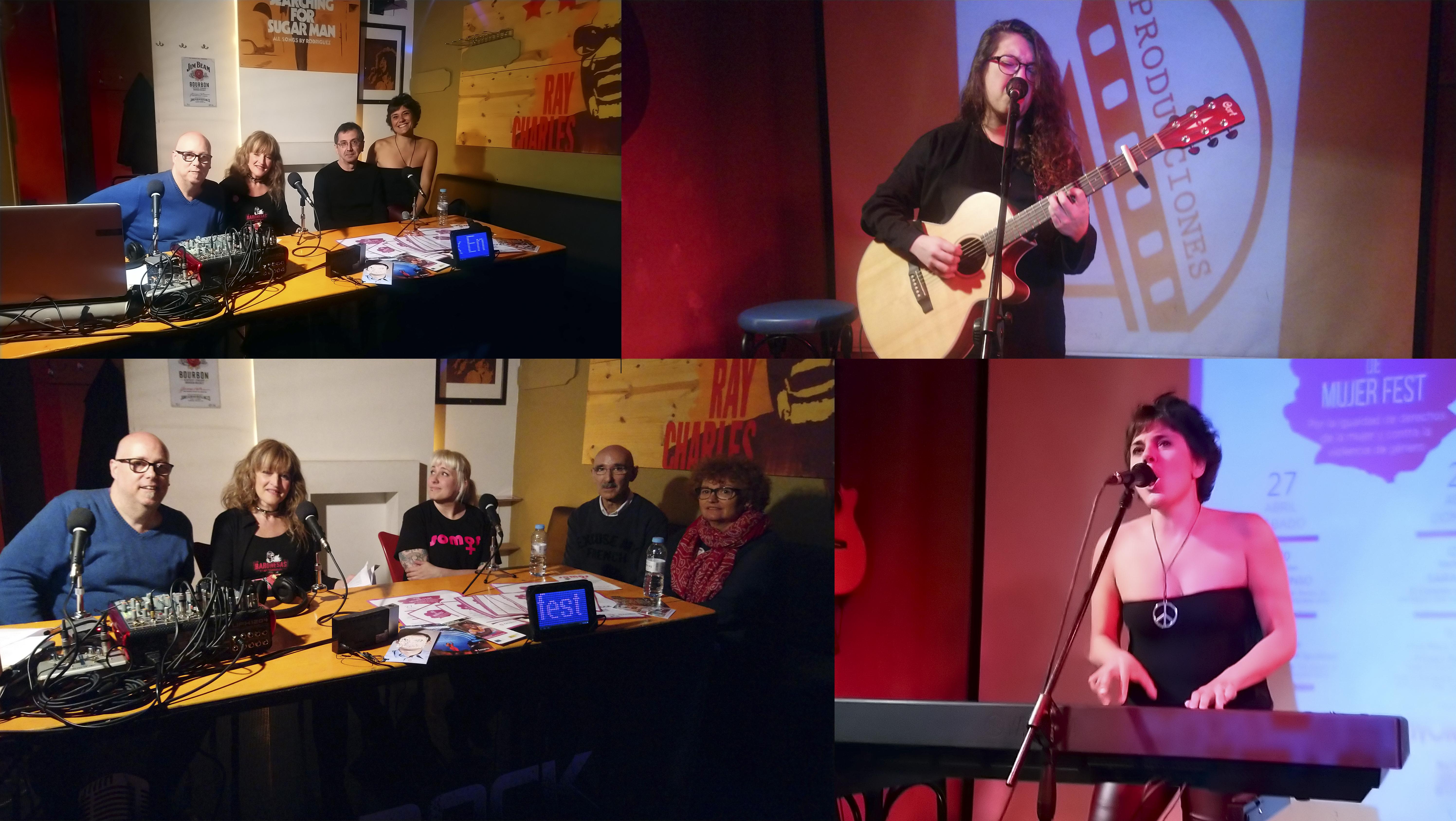 Vivo Rock En Concierto: Voz de Mujer
