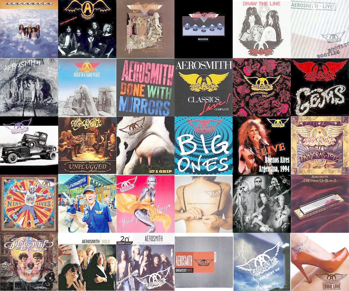 Aerosmith: discografía.