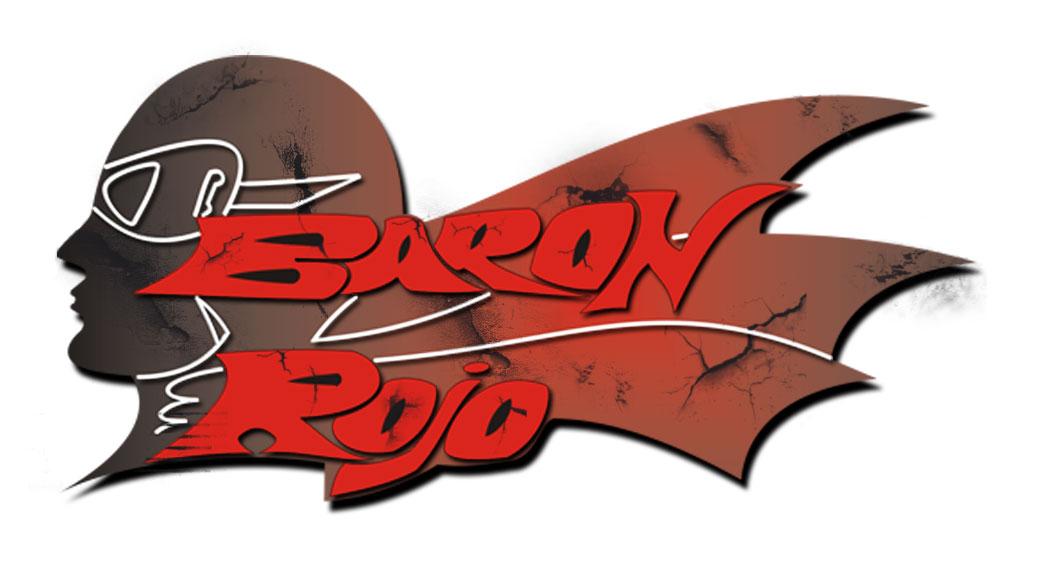 El clásico logo de Barón Rojo.