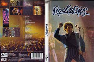 Rock & Ríos: Carátula de DVD.