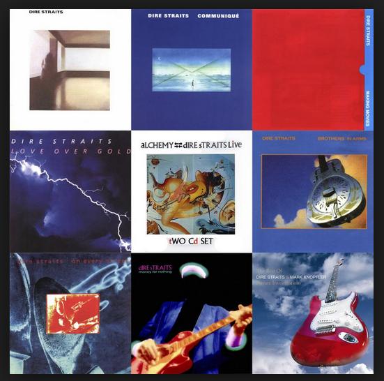 Dire Straits: Discografía.