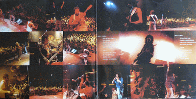 Los Suaves: Suave Es La Noche. Carpeta interior (edición en vinilo).
