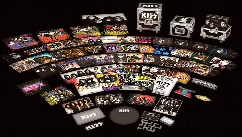Box Set con la discografía de Kiss.
