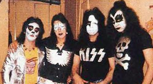 Kiss en 1973