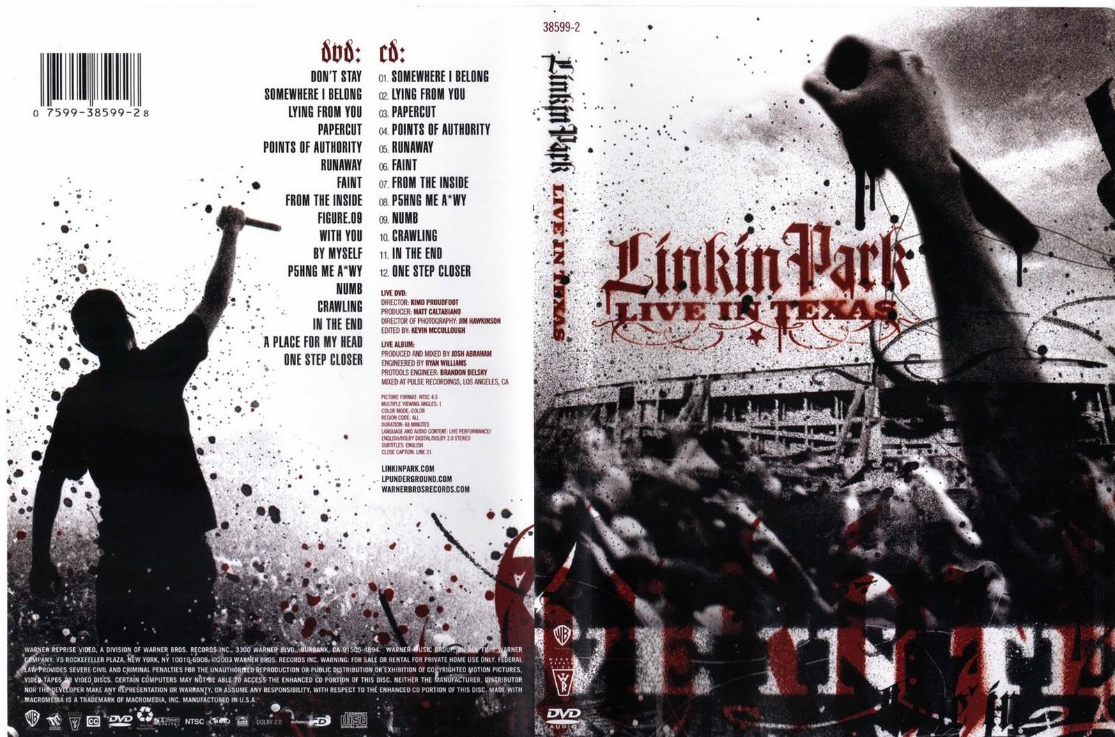 Linkin Park: Live In Texas. Presentación de DVD.