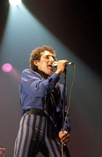 Miguel Ríos en un momento de su actuación del Rock & Ríos.