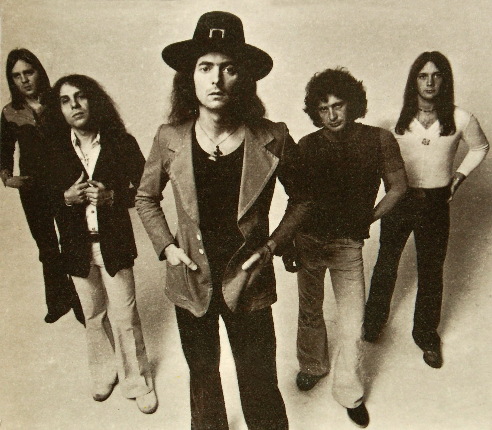 Rainbow en 1975.