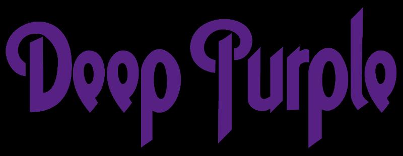 Logotipo clásico de Deep Purple.