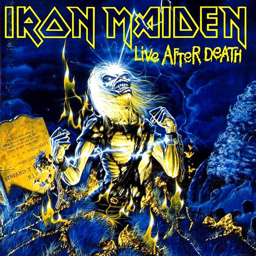 Iron Maiden: Live After Death.