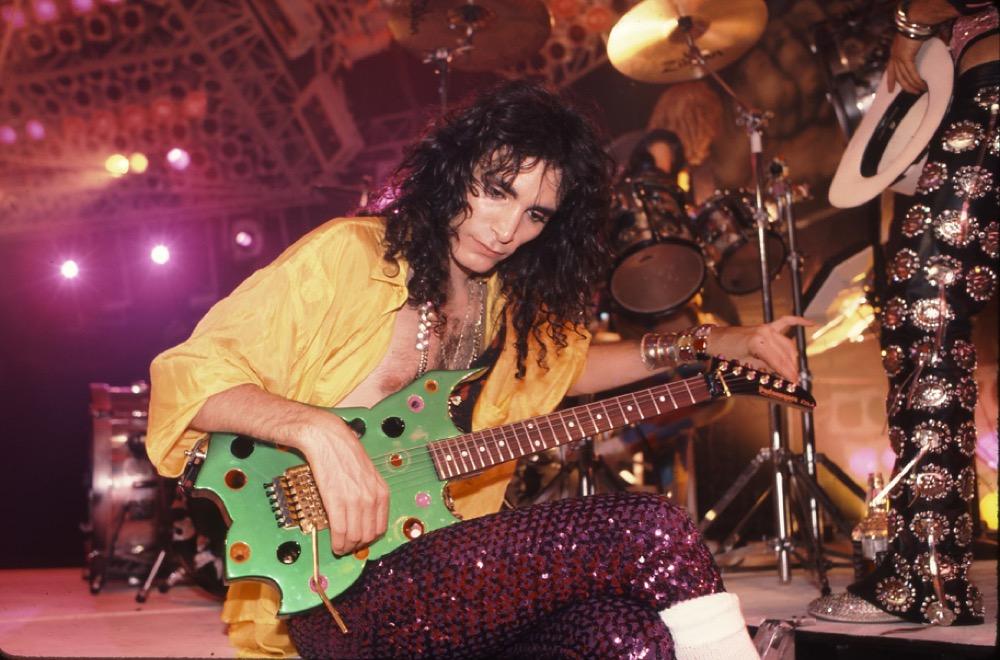 Steve Vai en 1986.