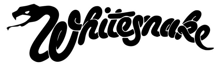 El inconfundible logo de Whitesnake.