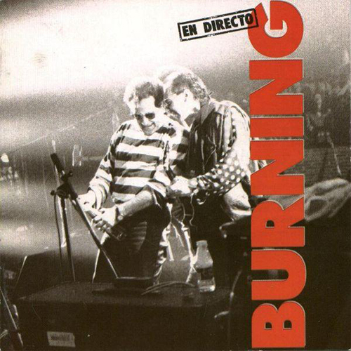 Burning: En Directo.