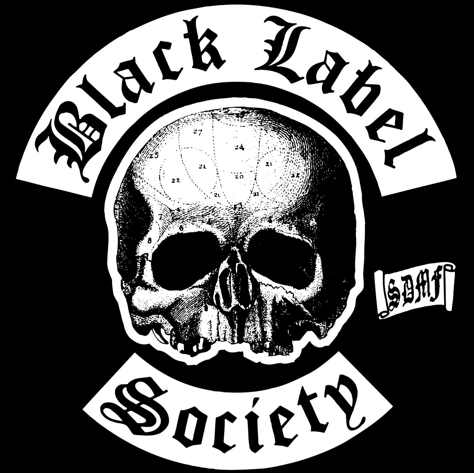 Logotipo de Black Label Society.
